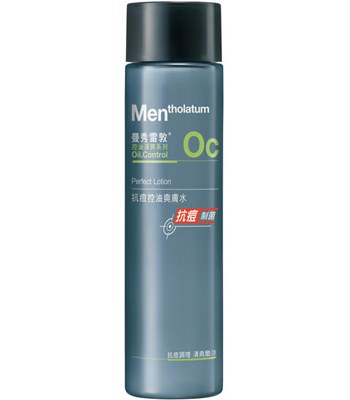 MENTHOLATUM  - 男士抗痘控油爽膚水-120ml