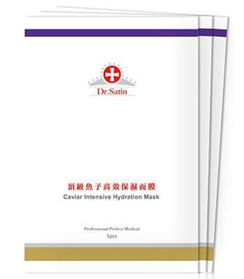 Dr.Satin - 頂級魚子高效保濕面膜-3入/盒