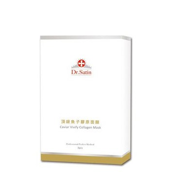 Dr.Satin - 頂級魚子膠原面膜-3片/1盒