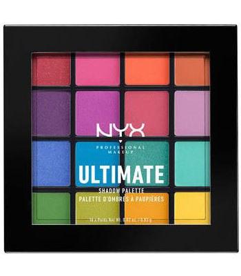NYX - 專業後台百變玩味16色眼影盤