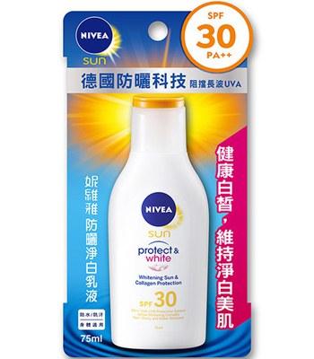 NIVEA - 防曬淨白乳液SPF30 PA++-75ml