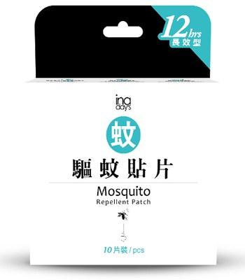 MYHUO Sundries - inaday's  捕蚊達人 天然長效驅蚊防蚊貼片-10片