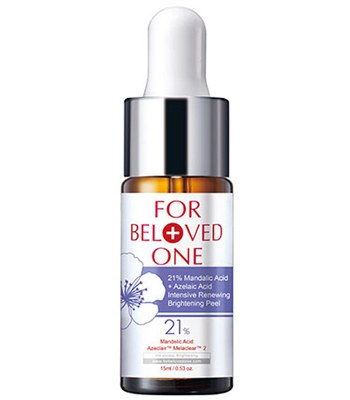 FOR BELOVED ONE - 杏仁花酸煥膚精華21%-15ml