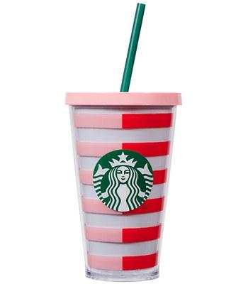 Starbucks Corporation - 16OZ BAN.DO TOGO雙色條紋-1入