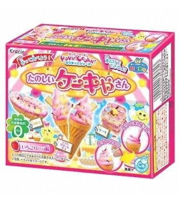 Japanese snacks - 知育菓子創意DIY小達人-冰淇淋-26g