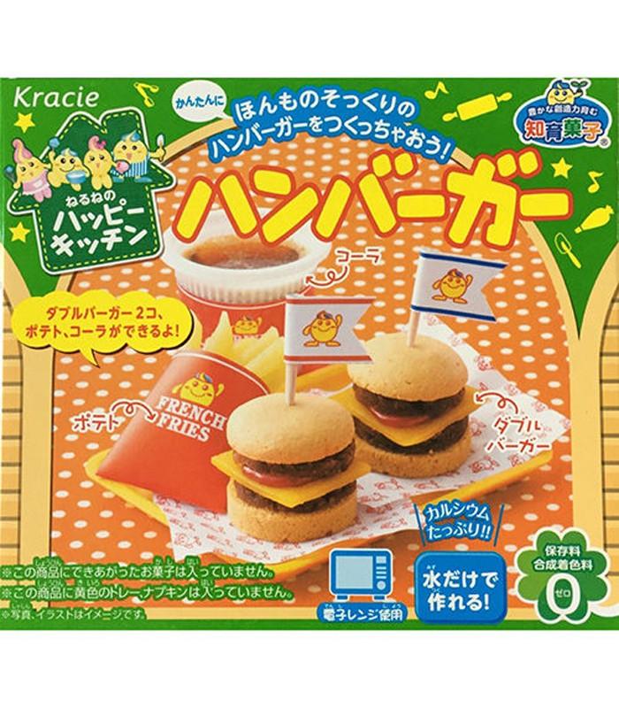 Japanese snacks - 知育菓子創意DIY小達人-漢堡-22g