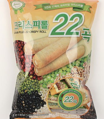 MyHuo Recommended Snacks - 22殼養生糙米捲-180