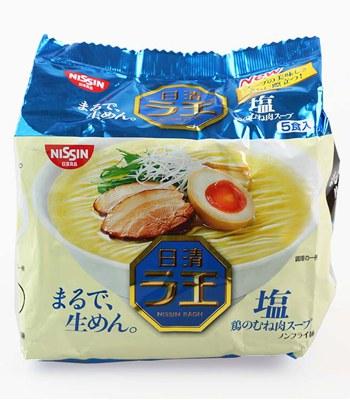 MyHuo Recommended Snacks - 拉王鹽味麵-5包/袋