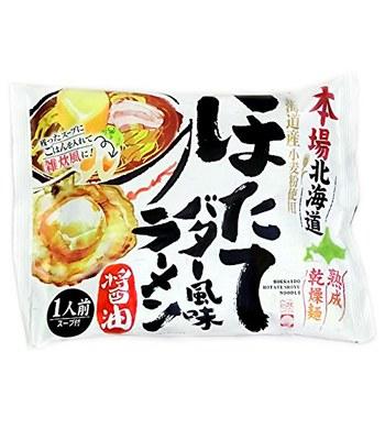 Japanese snacks - 藤原製麺本場北海道-醬油-114g