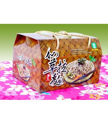 GuanXi Farmers Association - 仙草手工拉麵-900g