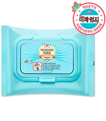 ETUDE HOUSE - 緊囊妙劑~十合一毛孔對策調理液濕巾