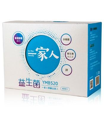 MYHUO Sundries - 一家人益生菌-60包