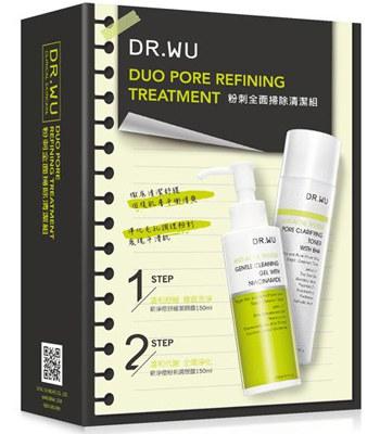 DR.WU - 粉刺全面掃除清潔組-1組
