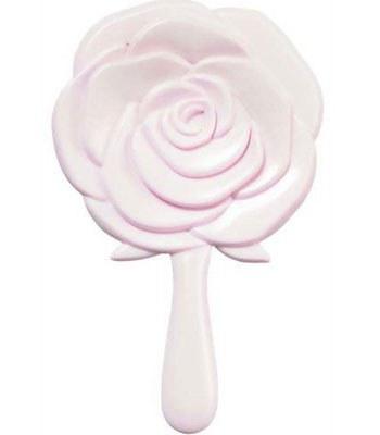 MYHUO Sundries - 玫瑰造型手拿鏡-粉紅-1入