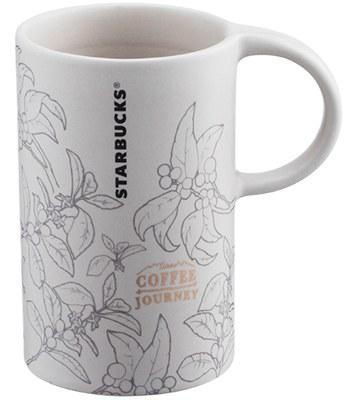 Starbucks Corporation - 12OZ 咖啡旅程產地馬克杯-1入