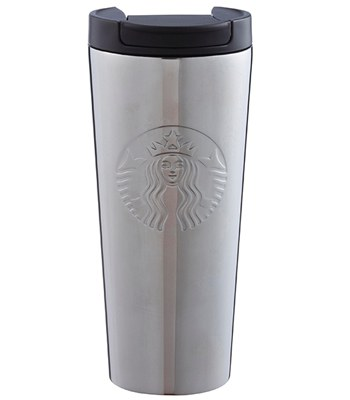 Starbucks Corporation - 16OZ ETCHED女神不鏽鋼杯-1入
