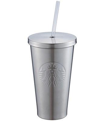 Starbucks Corporation - 16OZ 女神不鏽鋼Togo冷水杯-1入