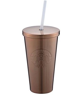 Starbucks Corporation - 16OZ COPPER不鏽鋼Togo冷水杯-1入