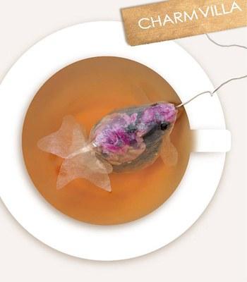 MYHUO Sundries - CHARM VILLA 小金魚茶包