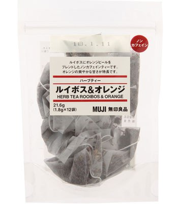 MUJI - 香草茶袋茶-博士茶&柑橘-21.6g