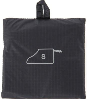 MUJI - 滑翔傘布可折收納鞋袋-深藍
