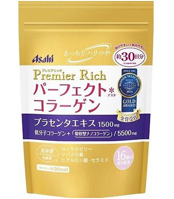 Japan buyer - ASAHI 黄金低分子玻尿酸膠原蛋白粉-228g