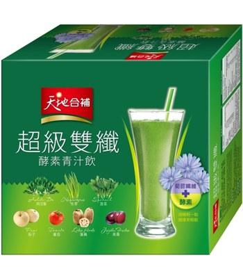 QUAKER - 天地合補 超級雙纖酵素青汁飲-30包