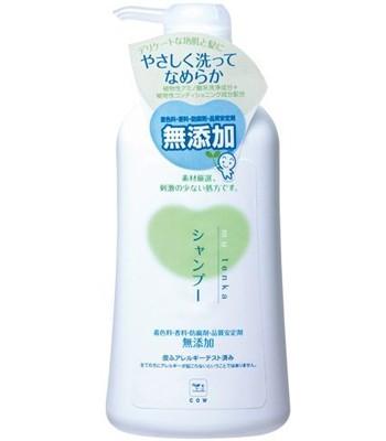 牛乳石鹼 - 石鹼植物性無添加洗髮精-550ml