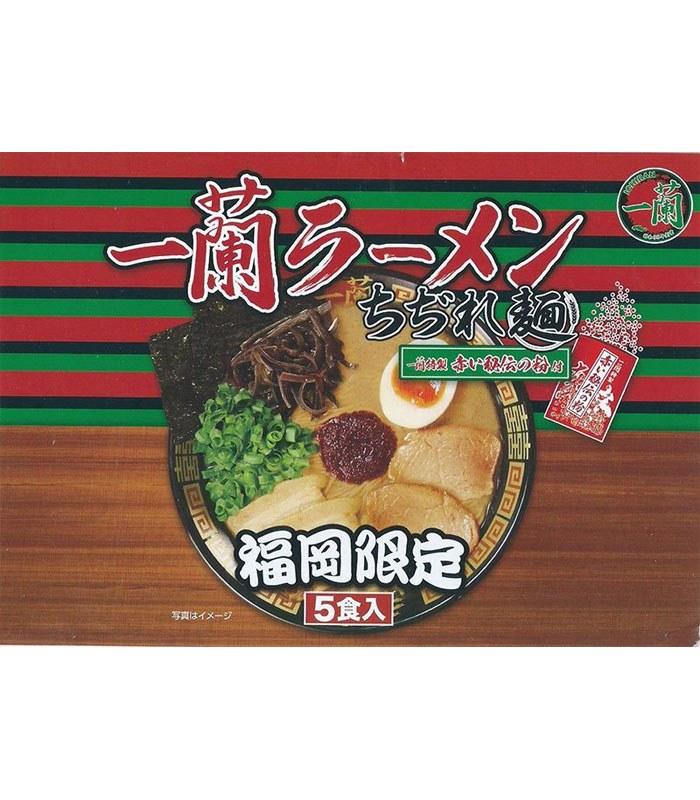 Japanese snacks - 日本一蘭拉麵速食中華麵(2017盒裝新款)-(福岡限定)-5入