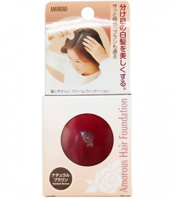 MYHUO LifeStyle - 黑彩髮表染髮粉餅-栗色-5g