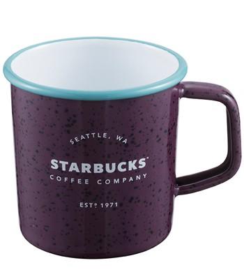 Starbucks Corporation - 14OZ 紫星巴克琺瑯杯-1入