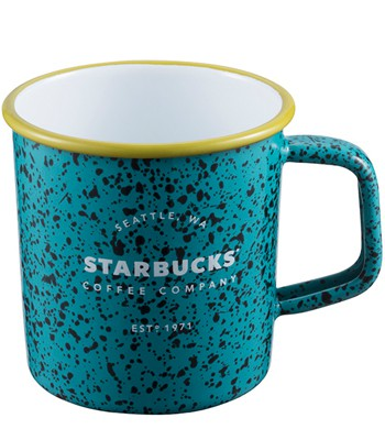 Starbucks Corporation - 14OZ 綠星巴克琺瑯杯-1入
