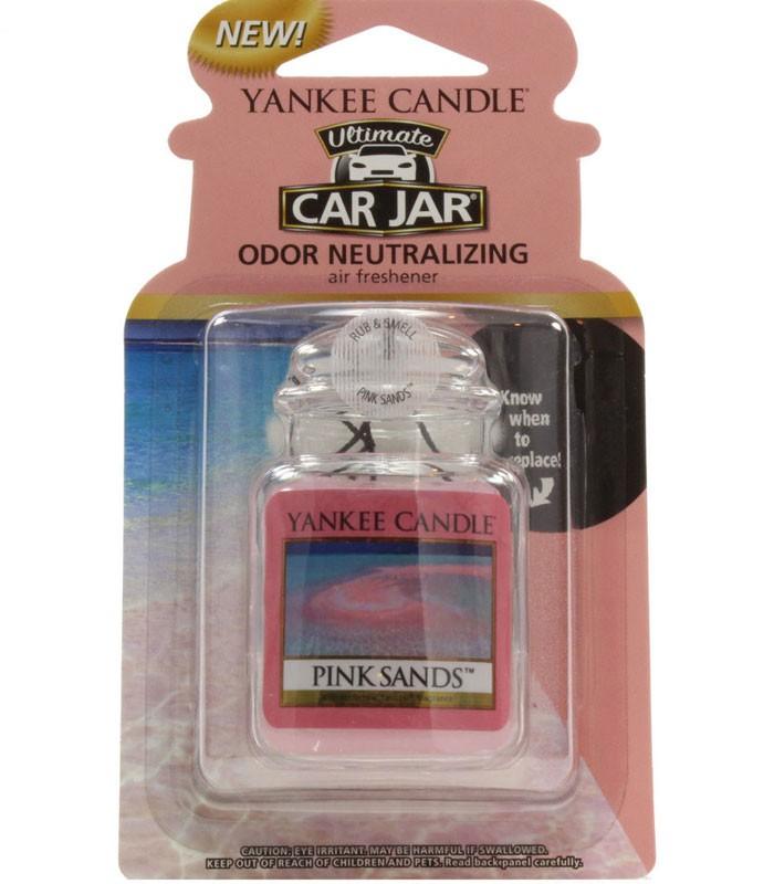 YANKEE CANDLE - 車用芳香吊飾- 粉紅沙-1入