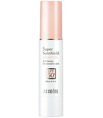 Japan buyer - ACSEINE 敏感肌UV防曬潤色隔離霜EX SPF50+・PA++++-22g