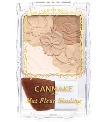 Japan buyer_makeup 日本美妝專區 - CANMAKE花蕊立體小顏修容盤 - 1入