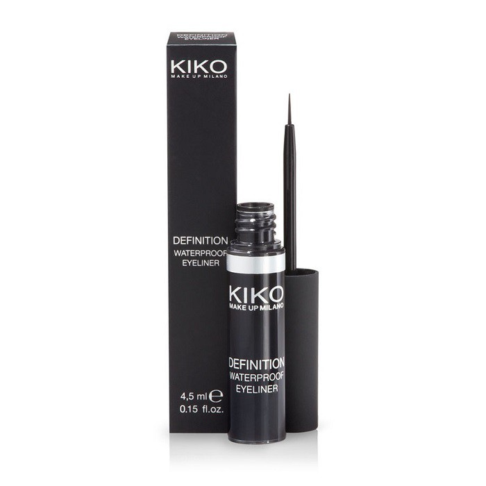 HongKong buyer - Kiko Milano- 超炫防水眼線筆-濃黑色-4.5ml