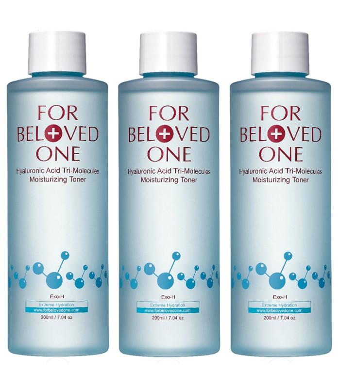 FOR BELOVED ONE - 2017週年慶 - 三分子玻尿酸保濕化妝水(重量版3瓶組)-1組