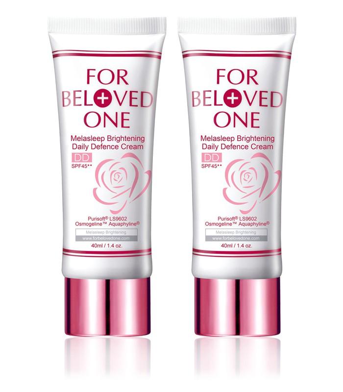 FOR BELOVED ONE - 2017週年慶 - 亮白淨化全防護裸妝霜(雙瓶組)-玫瑰色-1組