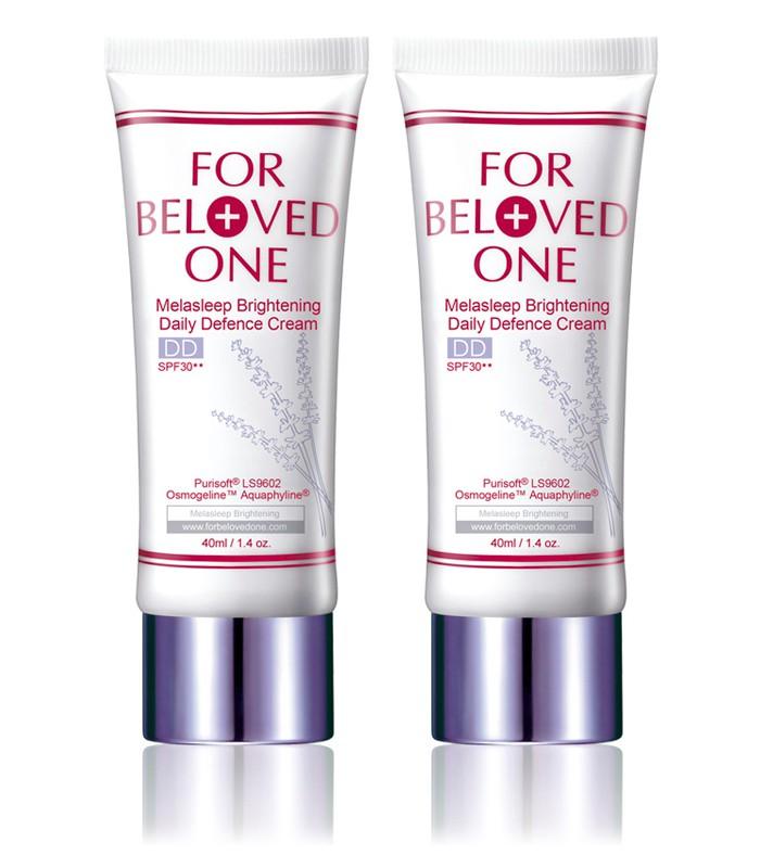FOR BELOVED ONE - 2017週年慶 - 亮白淨化全防護裸妝霜(雙瓶組)-薰衣草-1組