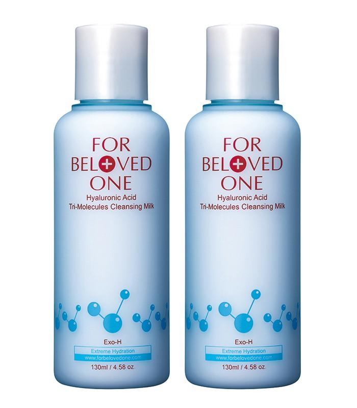 FOR BELOVED ONE - 2017週年慶 - 三分子玻尿酸胺基酸潔膚乳(雙瓶組)-1組