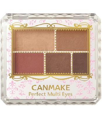 Japan buyer - CANMAKE完美霧面眉影盤- 03古銅赤色-1入