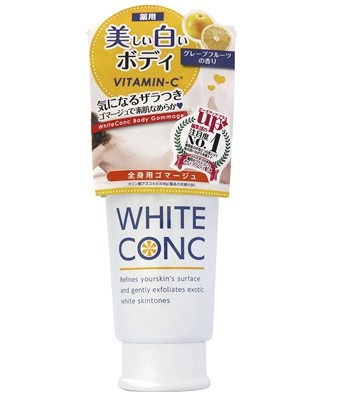 Japan buyer - WHITE CONC VC美白身體磨砂膏-180g