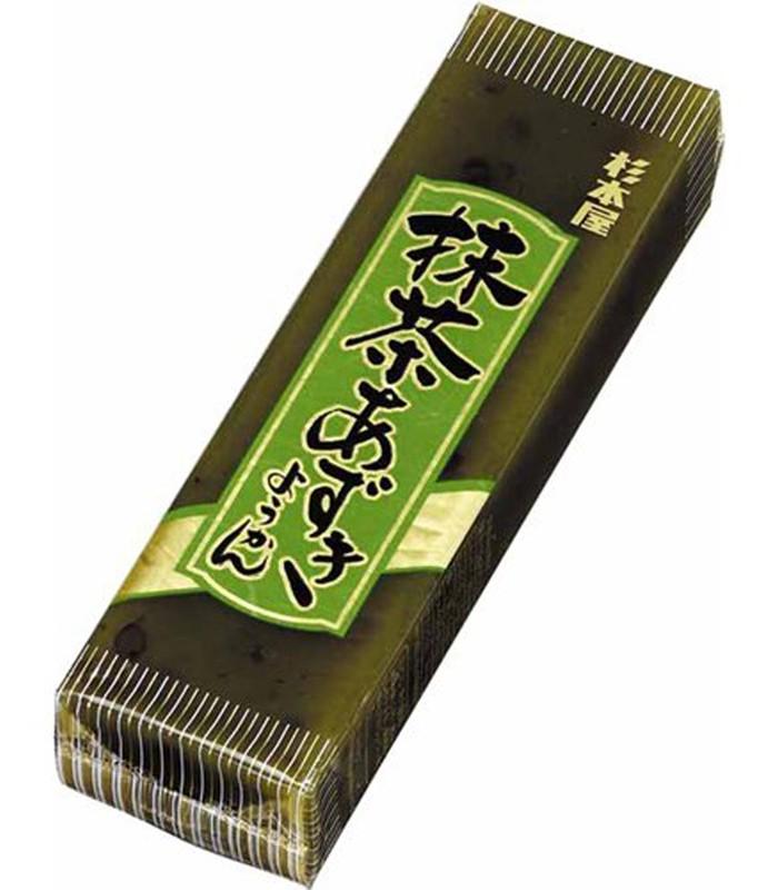 Japanese snacks - 杉本屋大羊羹-抹茶紅豆-400g