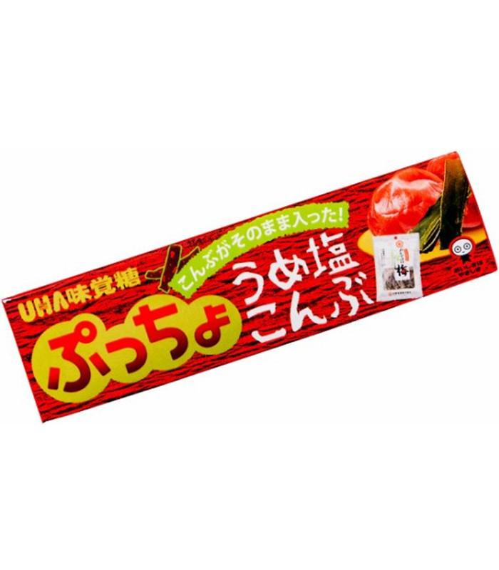 UHA - 噗啾條糖-昆布梅子-50g
