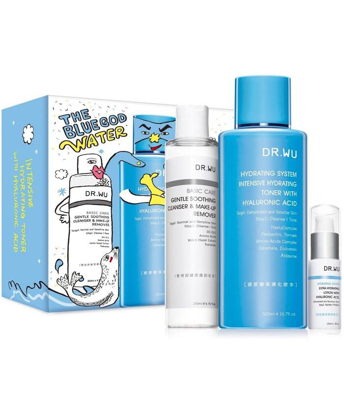 DR.WU - 玻尿酸保濕化妝水重量加贈版-1組