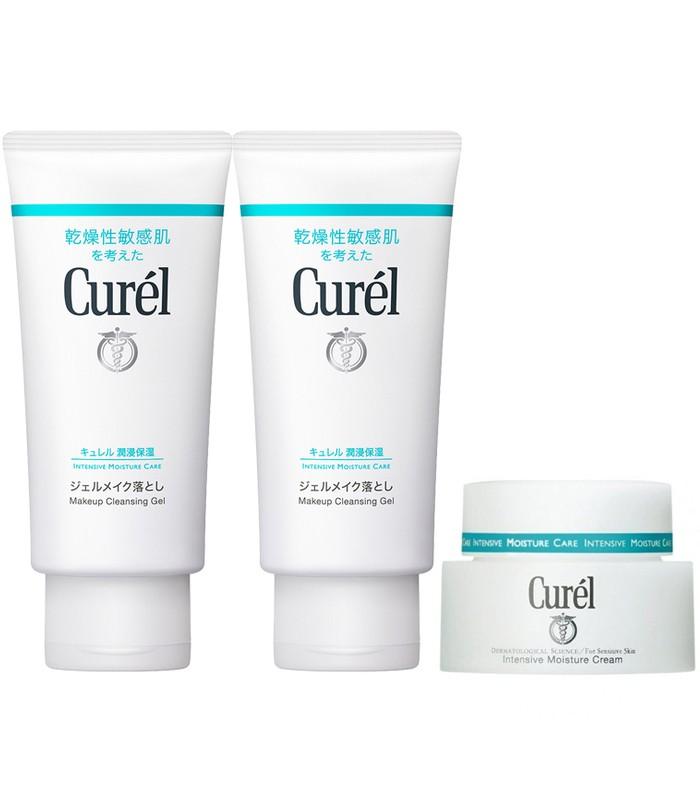 Curel - 2017週年慶 - 深層卸妝保濕組-1組