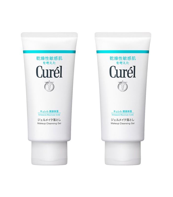 Curel - 2017週年慶 - 深層卸妝蜜/潤浸保濕深層卸粧凝露雙瓶組-1組