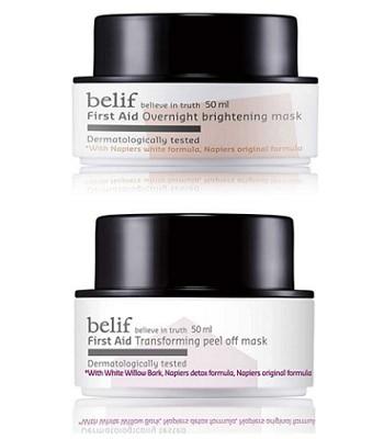 belif - 2017週年慶 - 松露淨白毛孔淨透面膜組-1組