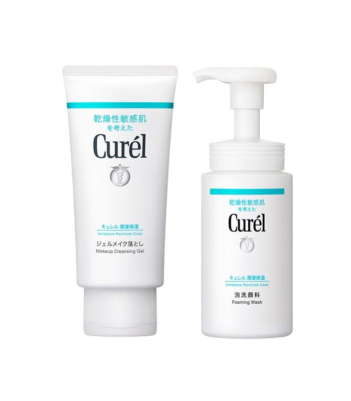 Curel - 2017週年慶 - 潤浸保濕潔顏組-1組