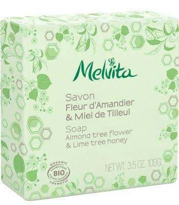 Melvita - 杏仁萊姆花蜜沐浴皂-100g